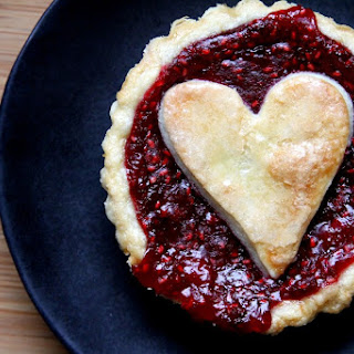 Raspberry Sweetheart Tartlets