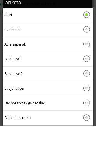 Ikusi eta ikasi bi!! - screenshot