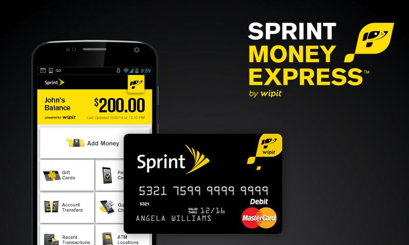 Sprint Money Express- screenshot