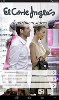 Screenshot of El Corte Inglés Dept. Stores