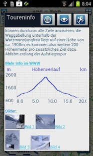 Outdoor und Wander- Navigation - screenshot thumbnail