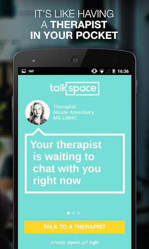 Talkspace Counseling Therapy