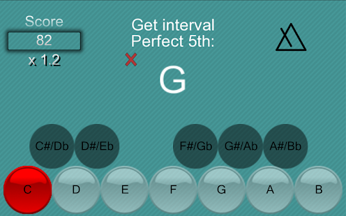 Music School:Interval & chords- screenshot thumbnail