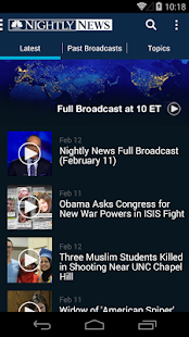 NBC Nightly News - screenshot thumbnail