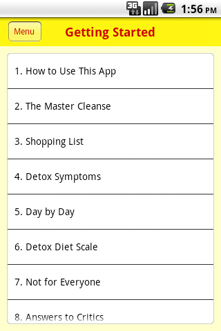 Master Cleanse Coach- screenshot