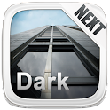 Next Launcher 3D Theme Dark icon