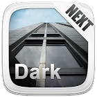 Next Launcher 3D Theme Dark icon