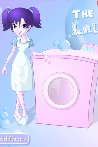 Clothes washing games