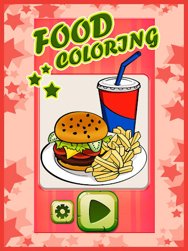 Food Coloring Book