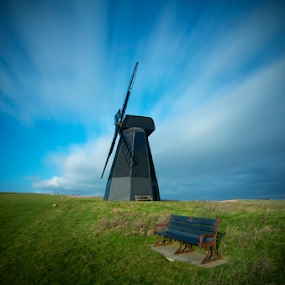 Windmill rottingdean sussex uk  by Mark West - Buildings & Architecture Other Exteriors