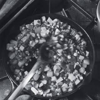 Iron-Skillet Succotash.