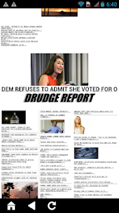 Official Drudge Report App- screenshot thumbnail