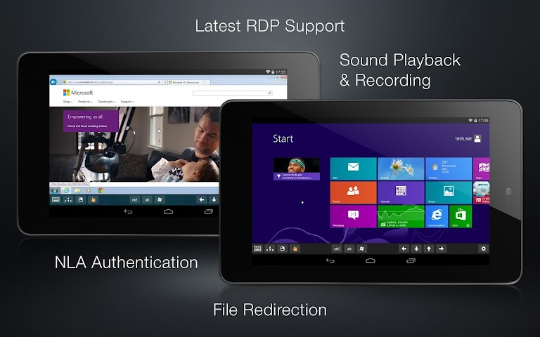 android Remotix VNC RDP Remote Desktop Screenshot 3