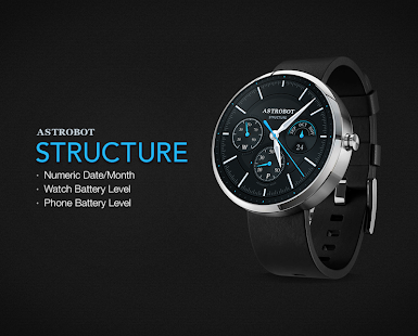 Structure watchface by Astrobot- screenshot thumbnail