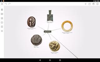 Screenshot of Mindomo (mind mapping)