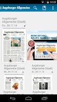 Screenshot of Augsburger Allgemeine