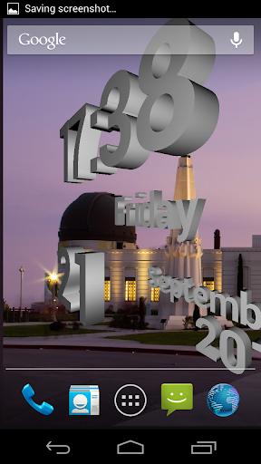 玩個人化App|3D 時鐘免費免費|APP試玩