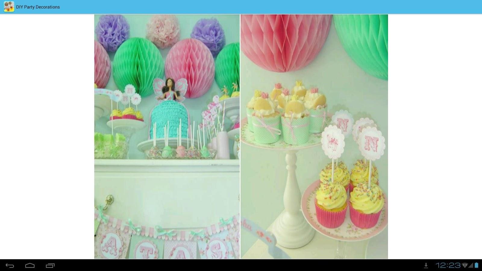 diy party decorations ideas screenshot
