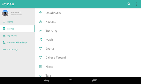 TuneIn Radio Pro - Live Radio Screenshot 25
