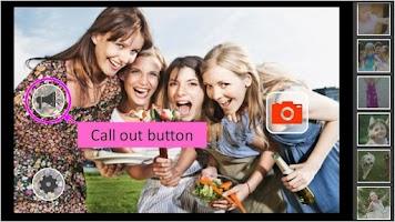 Screenshot of pick pic camera