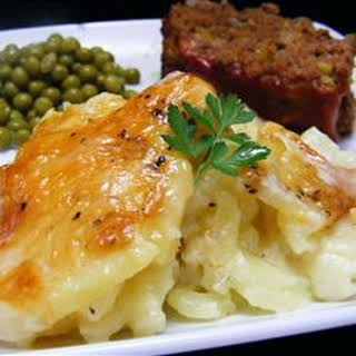 Rich and Creamy Potatoes Au Gratin.
