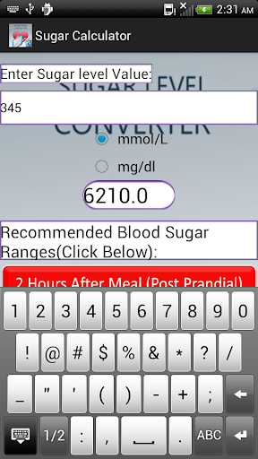 【免費健康App】SugarCalculator-APP點子