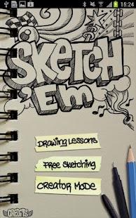 Sketch 'Em - screenshot thumbnail