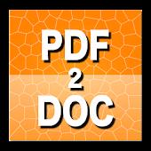 PDF to DOC Converter