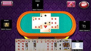 Screenshot of Tarneeb