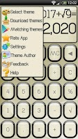 Screenshot of SCalc theme Jelly Pearl