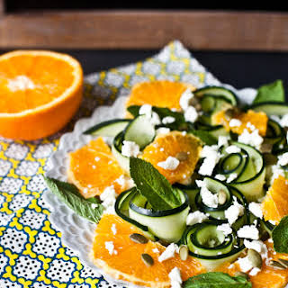 Cucumber and Orange Salad.