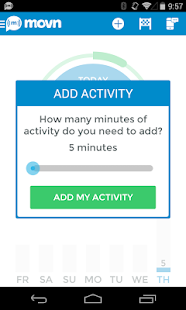 Movn Activity Sit Pedometer - screenshot thumbnail