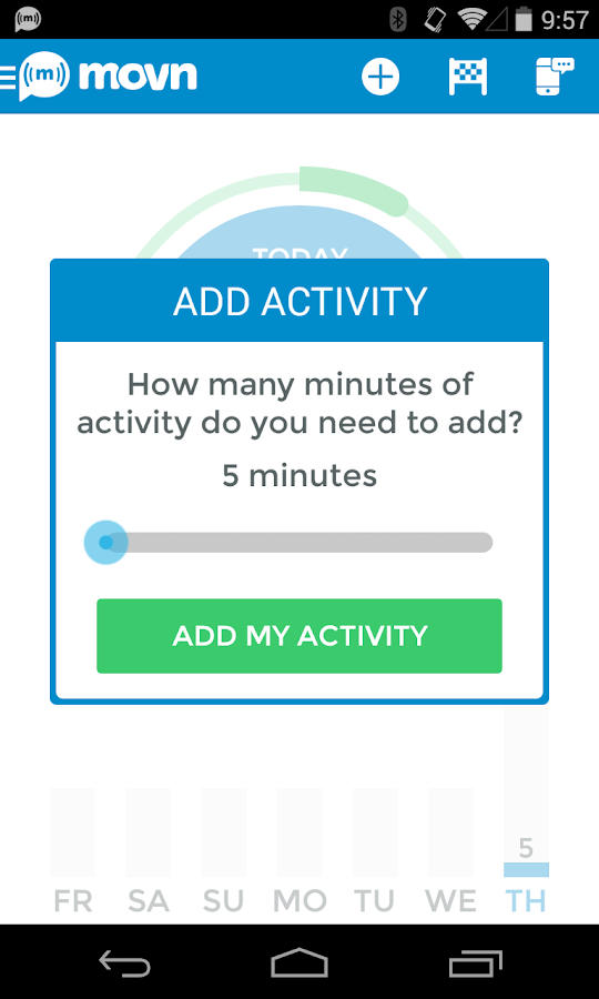 Movn Activity Sit Pedometer - screenshot