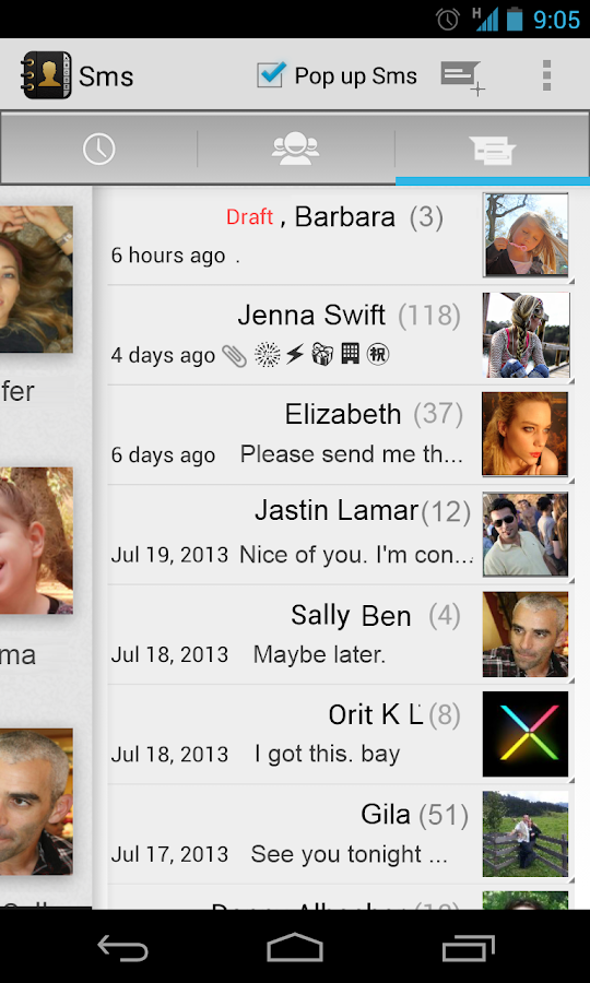 Contacts Dialer - screenshot