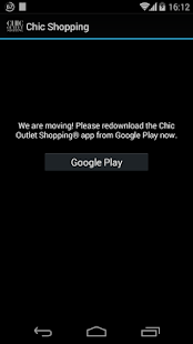 Chic Outlet Shopping® - screenshot thumbnail