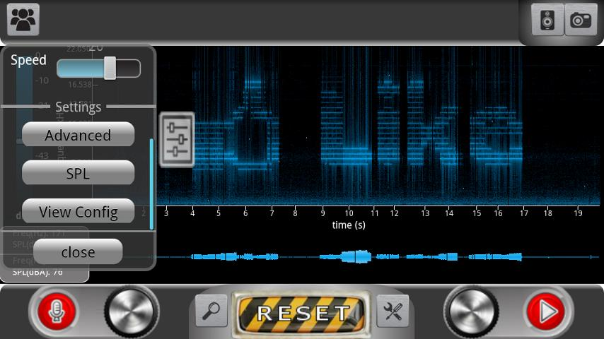 ProSpec - Spectrum Analyzer- screenshot