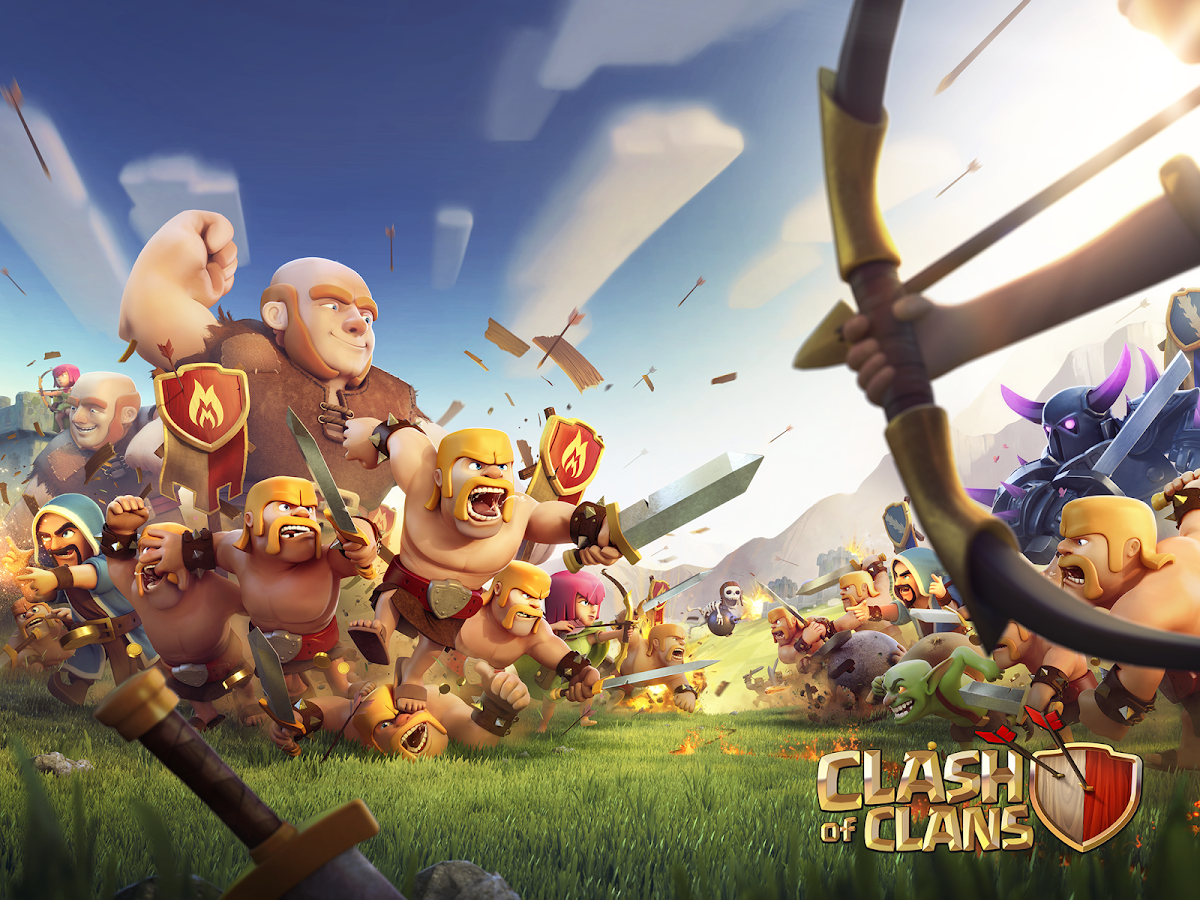 download clash of clans mod unlimited gold elixir and gems