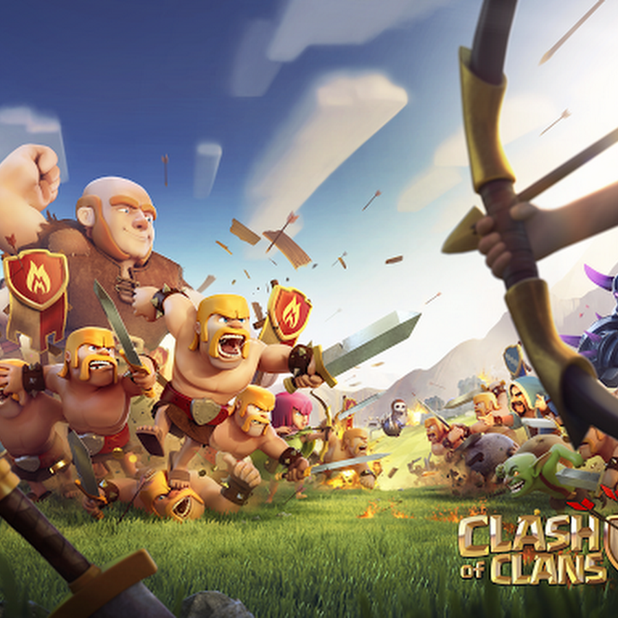 CLASH OF CLANS CRACKED & MODDED APK 7.200.12 UNLIMITED EVERYTHING