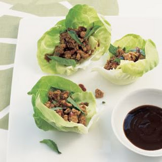 Turkey Lettuce Wraps with Southeast Asian Flavors