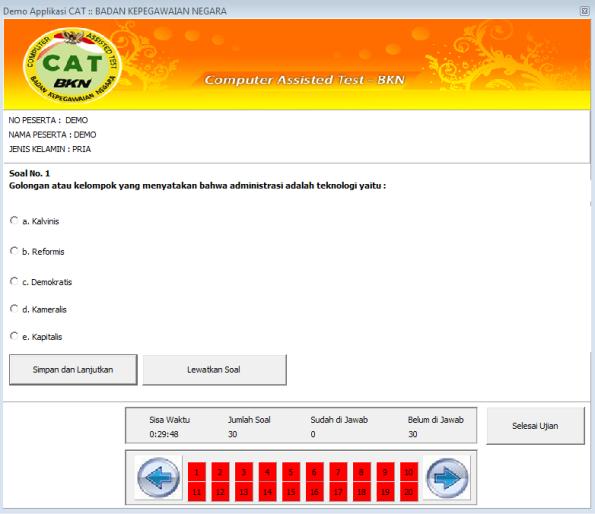 Simulasi Cat Cpns Offline Indobeta