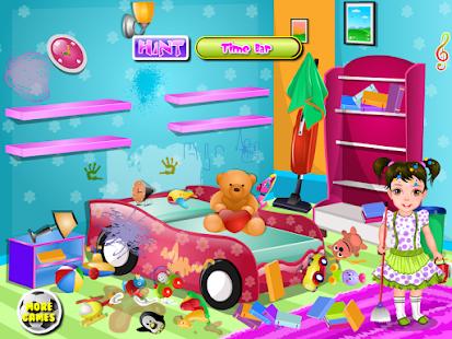 孩子們的房子乾淨女生遊戲 休閒 App-癮科技App