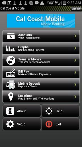 CALCOASTCU Mobile Banking