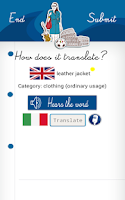 Screenshot of WORDS Learn Languages FREE
