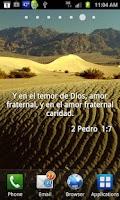 Screenshot of Versos Biblicos Live Wallpaper