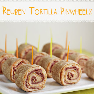 Reuben Tortilla Pinwheels