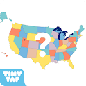 US States Map Quiz - 50 States
