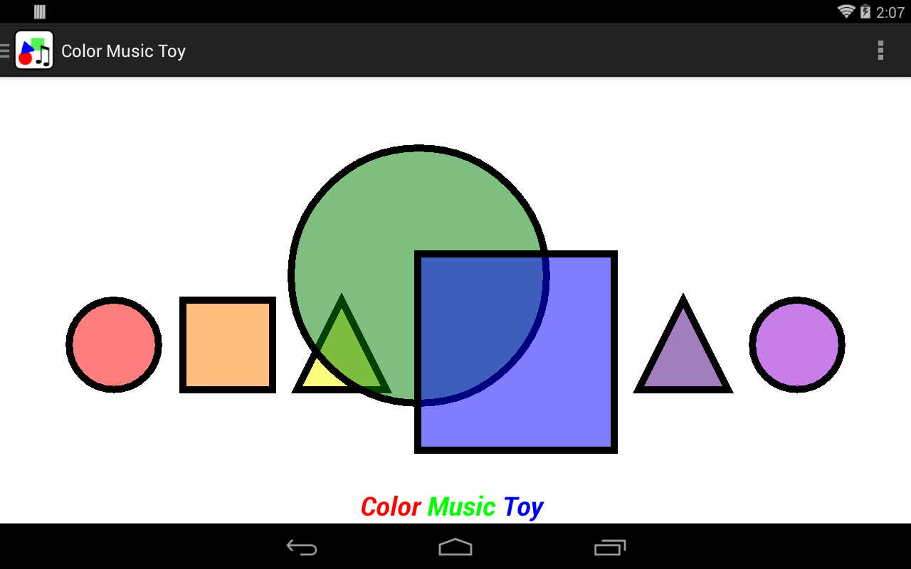 Color Music Toy- screenshot