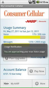 My Consumer Cellular - screenshot thumbnail