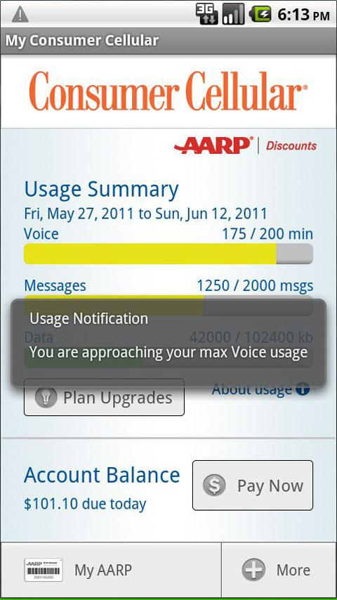 My Consumer Cellular - screenshot