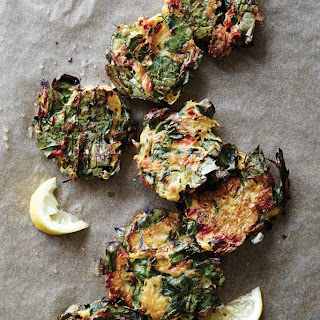 Spinach and Spaghetti Squash Fritters
